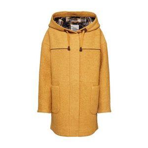 EDC BY ESPRIT Prechodný kabát 'Duffle Coat' žlté vyobraziť