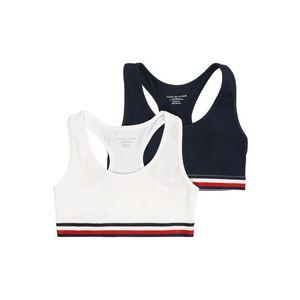 Tommy Hilfiger Underwear Podprsenka tmavomodrá / červené / biela vyobraziť