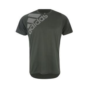 ADIDAS PERFORMANCE Funkčné tričko 'Freelift Badge of Sport Graphic' zelená / biela vyobraziť