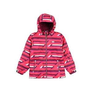 LEGO WEAR Zimná bunda 'JOSEFINE' ružová / bordové / biela vyobraziť