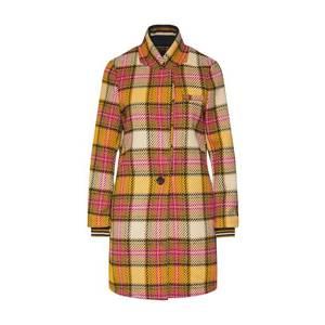 SCOTCH & SODA Prechodný kabát 'Bonded checked' oranžová vyobraziť