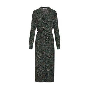 EDITED Košeľové šaty 'Christin' tmavozelená vyobraziť