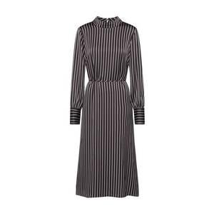 JUST FEMALE Šaty 'Rosie' čierna / biela vyobraziť