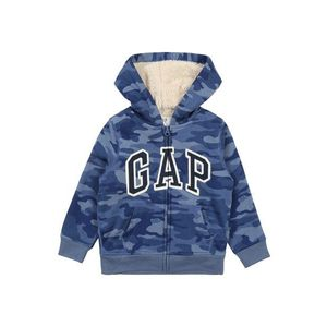 GAP Tepláková bunda 'V-SHERPA' modré / dymovo modrá / tmavomodrá / biela vyobraziť