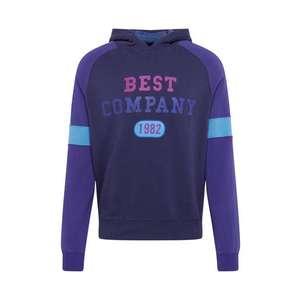 Best Company Mikina modré / námornícka modrá / svetlomodrá vyobraziť