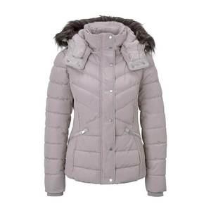 TOM TAILOR Zimná bunda sivá vyobraziť