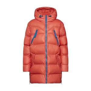 HUNTER Zimný kabát hrdzavo červená vyobraziť