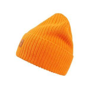 KnowledgeCotton Apparel Čiapky 'Ribbing' oranžová vyobraziť