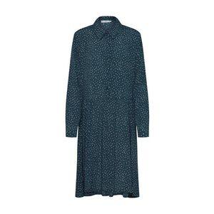 Minimum Košeľové šaty 'Bindie 6436' zelená / biela vyobraziť