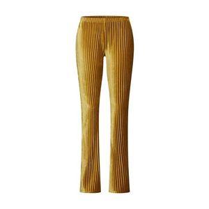GLAMOROUS Nohavice žlté vyobraziť