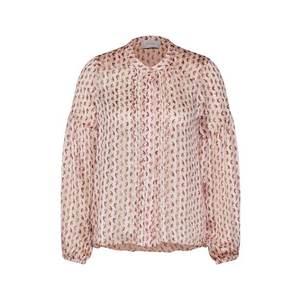 Neo Noir Blúzka 'Fatima Rose Shirt' krémová vyobraziť