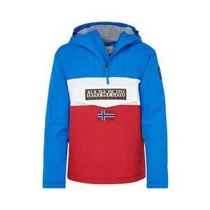 NAPAPIJRI Prechodná bunda 'RAINFOREST BLOCK' modré / červené / biela vyobraziť