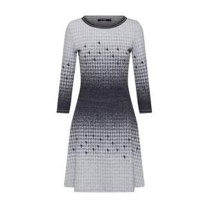 Desigual Šaty 'VEST_MIRIAM' sivá vyobraziť