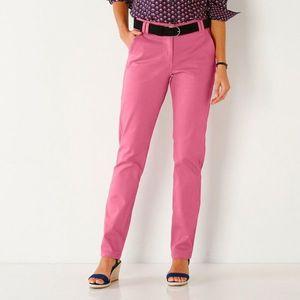 Nohavice Chino ružová 36 vyobraziť
