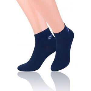 Pánske ponožky 046 dark blue vyobraziť