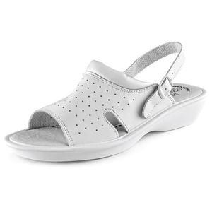 Canis Dámske biele sandále LIME - 37 vyobraziť