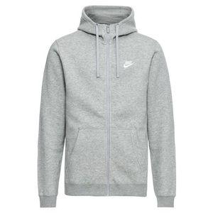 Nike Sportswear Tepláková bunda sivá vyobraziť