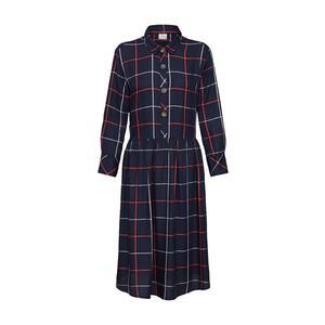 JACQUELINE De YONG Košeľové šaty 'BELLA' tmavomodrá vyobraziť