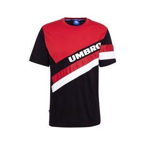 UMBRO Tričko červené / čierna / biela vyobraziť