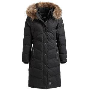 Khujo Zimný kabát 'LUBECK LONG3' čierna vyobraziť