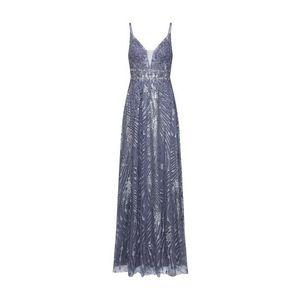 LUXUAR Večerné šaty modré / sivá vyobraziť
