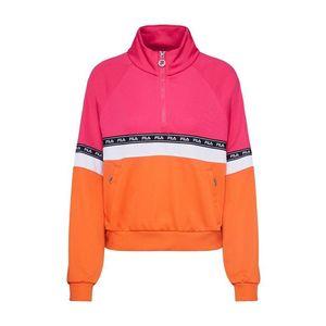 FILA Mikina 'CHINAMI' oranžová / ružová / čierna / biela vyobraziť