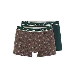 Calvin Klein Underwear Boxerky 'TRUNK 2PK' zelená / ružová vyobraziť