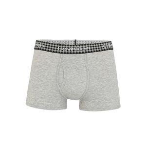 Calvin Klein Underwear Boxerky 'TRUNK' svetlosivá vyobraziť
