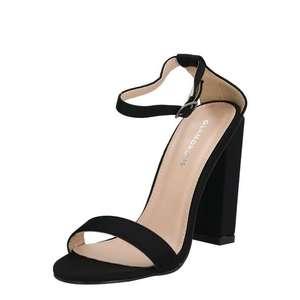 GLAMOROUS Sandále čierna vyobraziť