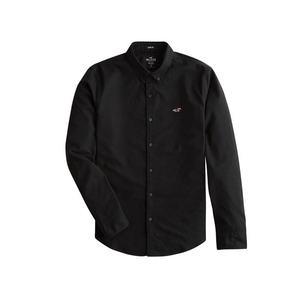 HOLLISTER Košeľa čierna vyobraziť