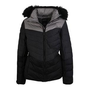 KILLTEC Športová bunda 'Brinley' tmavosivá / čierna vyobraziť