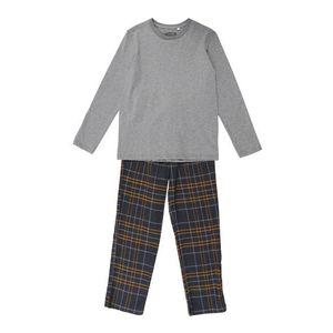 SANETTA Pyžamo sivá / sivá melírovaná vyobraziť
