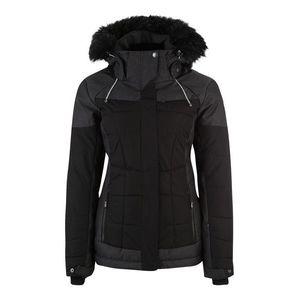 KILLTEC Outdoorová bunda 'Embla' tmavosivá / čierna vyobraziť