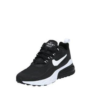 Nike Sportswear Nízke tenisky 'AIR MAX 270 REACT' čierna / biela vyobraziť