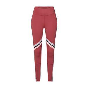 NIKE Športové nohavice 'ONE' ružová / červené / čierna / strieborná vyobraziť