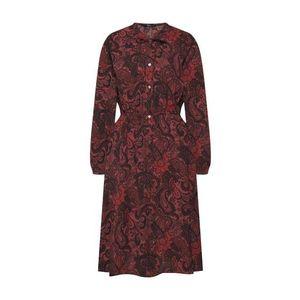 ONLY Košeľové šaty 'Nova Lux' hrdzavo červená vyobraziť