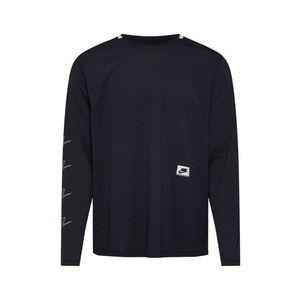 NIKE Funkčné tričko 'M NK DRY TOP LS PX' čierna vyobraziť