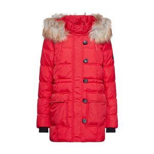 ONLY Zimný kabát červené vyobraziť
