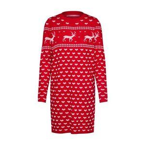 ONLY Pletené šaty červené vyobraziť