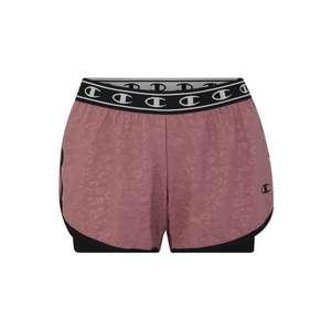 Champion Authentic Athletic Apparel Športové nohavice fialová / čierna vyobraziť