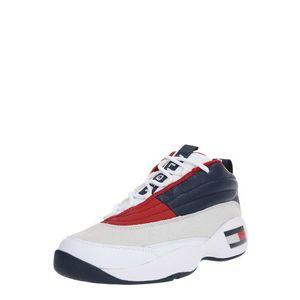 Tommy Jeans Nízke tenisky tmavomodrá / červené / biela vyobraziť