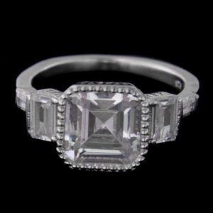 Strieborný prsteň 60893 vyobraziť