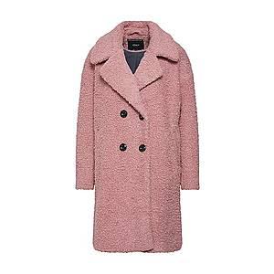 ONLY Zimný kabát rosé / čierna vyobraziť
