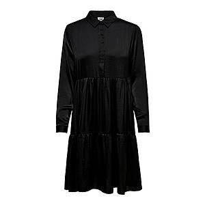 JACQUELINE De YONG Košeľové šaty čierna vyobraziť