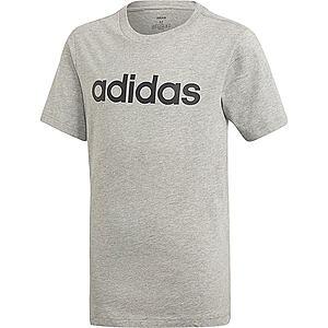 ADIDAS PERFORMANCE Funkčné tričko čierna / sivá melírovaná vyobraziť