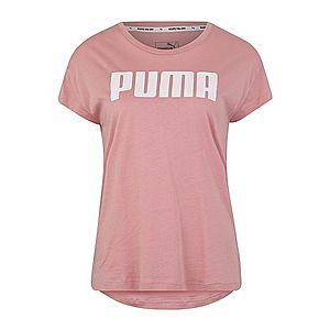 PUMA Funkčné tričko ružová / biela vyobraziť