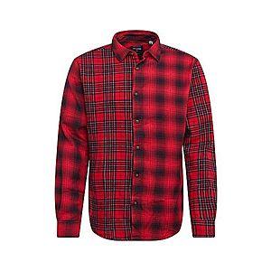 Only & Sons Košeľa červené / čierna vyobraziť
