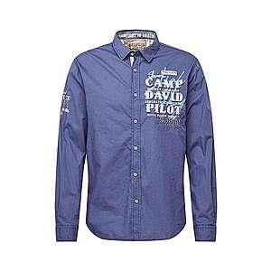 CAMP DAVID Košeľa námornícka modrá / zmiešané farby / šedobiela vyobraziť