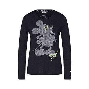 Frogbox Tričko 'Mickey' čierna vyobraziť