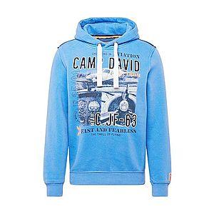 CAMP DAVID Mikina modré / zmiešané farby vyobraziť